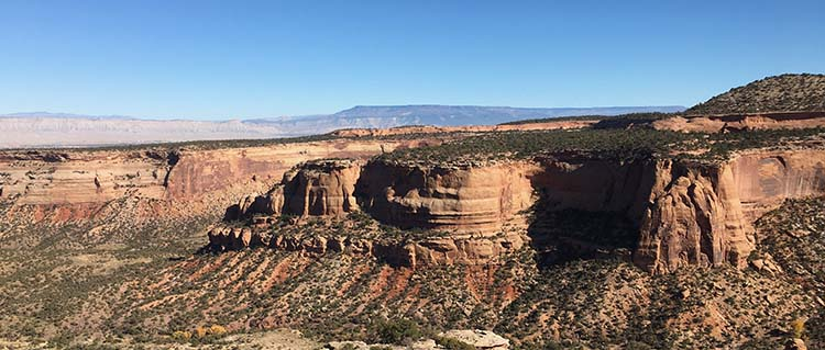 Colorado Nationa Monument from inner drive
