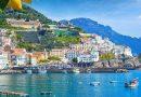 Amalfi itally coast and hills